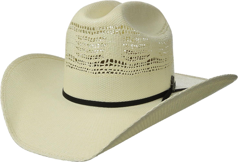 ff971708dd324b Bailey Western Men's Desert Breeze, Ivory, 6 3/4 at Amazon Men's ...