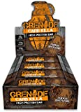 Fudge Brownie : Grenade Carb Killa High Protein and Low Carb Bar, 12 x 60 g - Fudge Brownie