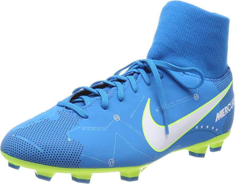 242b7e223 Amazon.com | Nike Jr Mercurial Vctry 6 DF NJR FG Soccer Shoes (3.5 M ...