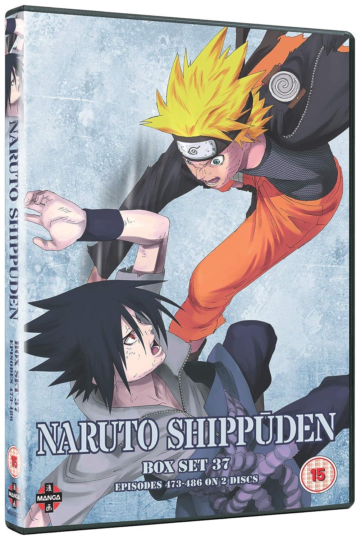 Amazon.com: Naruto Shippuden Box 37 (Episodes 473-486) [DVD ...