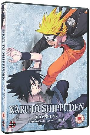 Naruto Shippuden Box 37 (Episodes 473-486) [DVD]: Amazon co