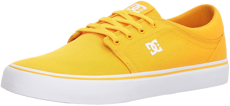 DC Men's Trase TX Unisex Skate Shoe B0731ZKR7M 12 D(M) US Yellow/Gold