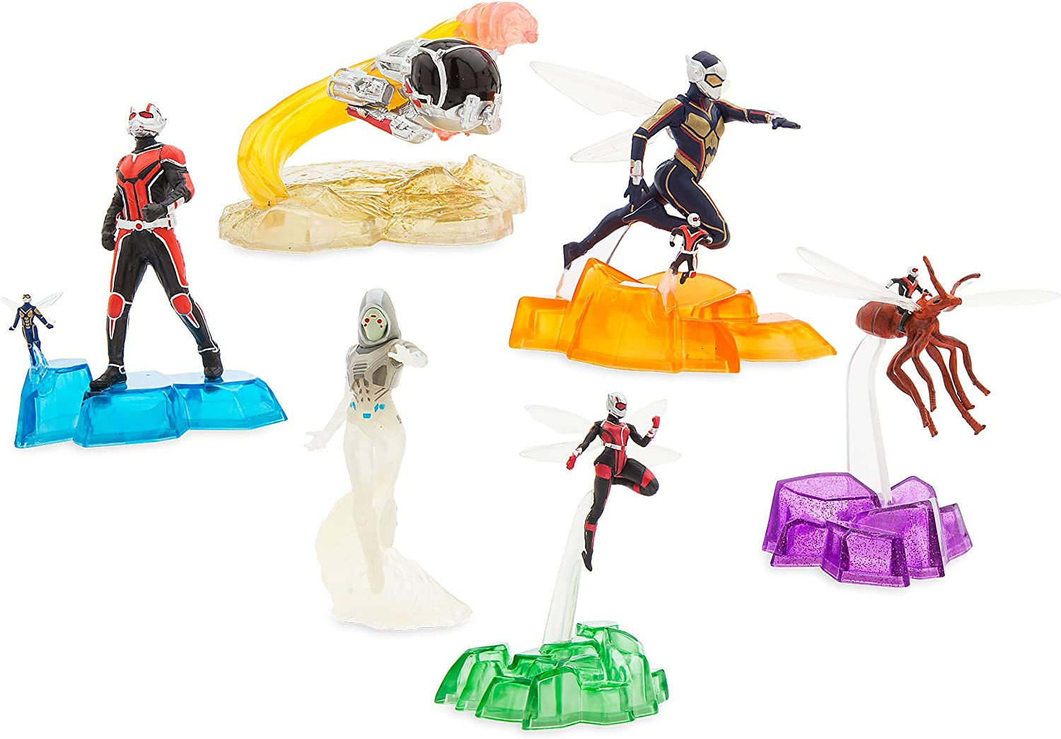 Marvel Antman and The Wasp Action Figure Set Figurine 6 Pack Ant-man free-ship