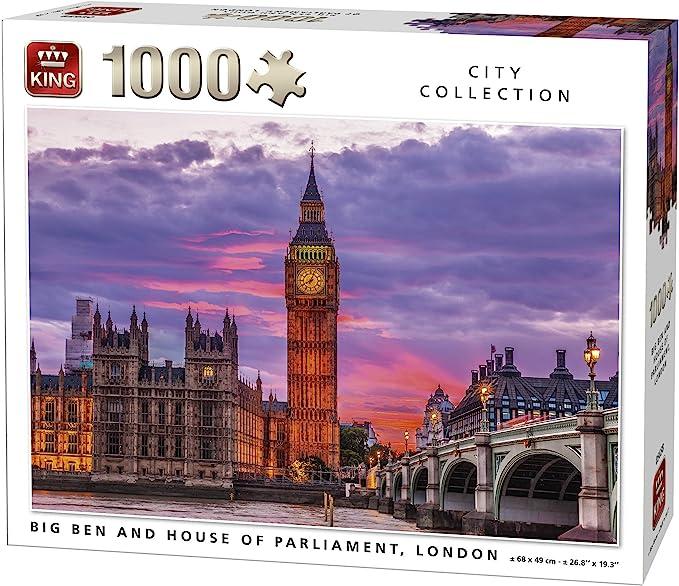 wooden puzzles melissa and doug large shapes London Parliament World Landmarks