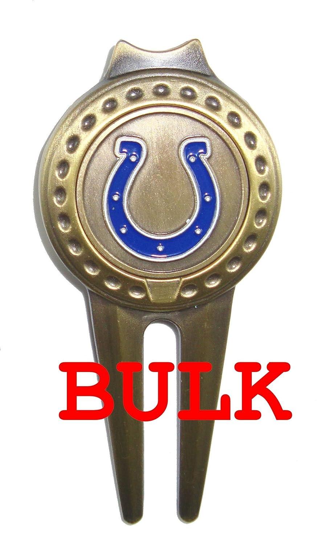バルク: 50 Indianapolis Colts Divotゴルフボールマーカー、ツール   B00PL002PM