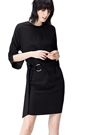 Marchio Amazon find. Vestito con Cinturone Donna