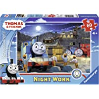 Ravensburger Thomas & Friends Night Work Glow-in-The-Dark Puzzle, 60-Piece