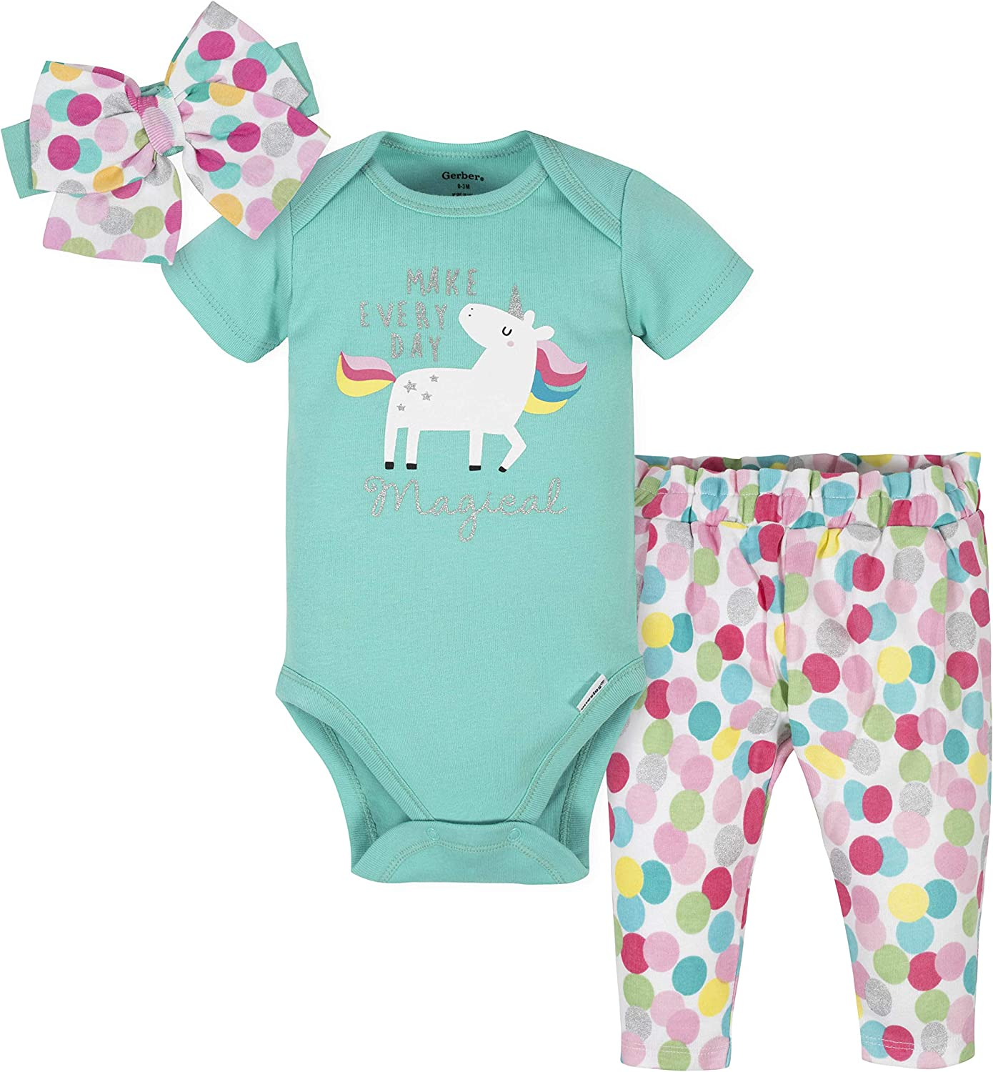 Size 3-6 months Details about  /Gerber Baby girl bodysuit set,long sleeves body pants hat