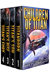 Children of Titan Series: Books 1-4: (A Space Opera Thriller Box Set) Kindle Edition
