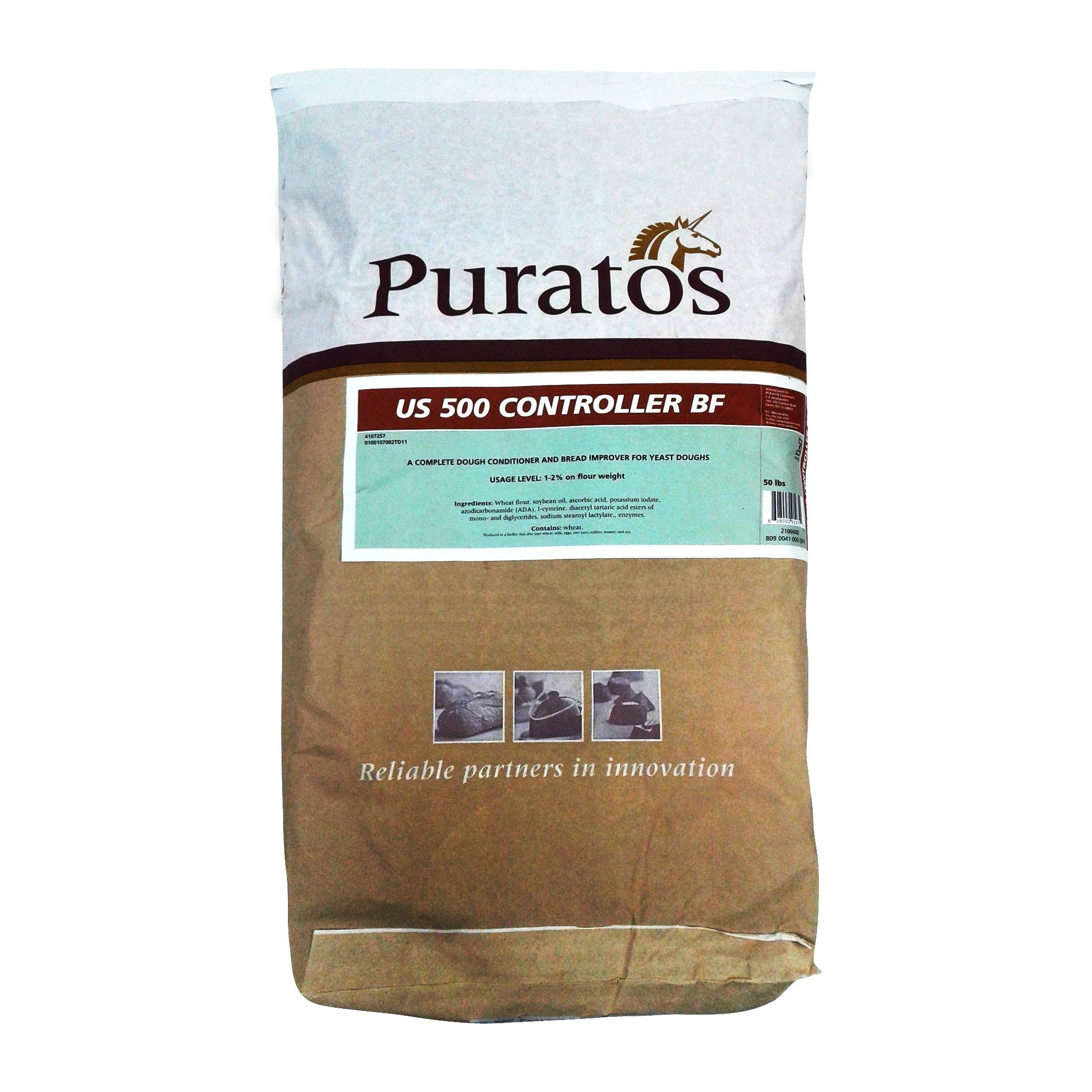 Puratos US 500 Dough Conditioner & Improver - 50 LB Bag