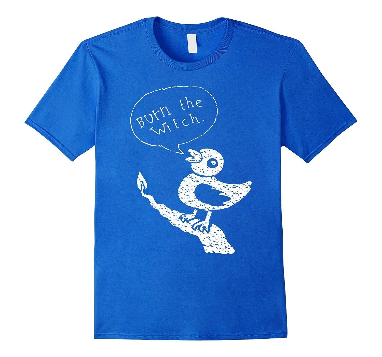 Burn the Witch Shirt Halloween Shirt Premium-RT