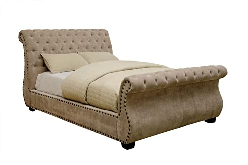 Furniture of America Furniture of America Jeanne Contemporary Queen Sleigh Bed