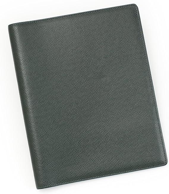 Amazon.co.jp: Vuitton Taiga Agenda Bureau Notebook Cover episea : Clothing  & Accessories