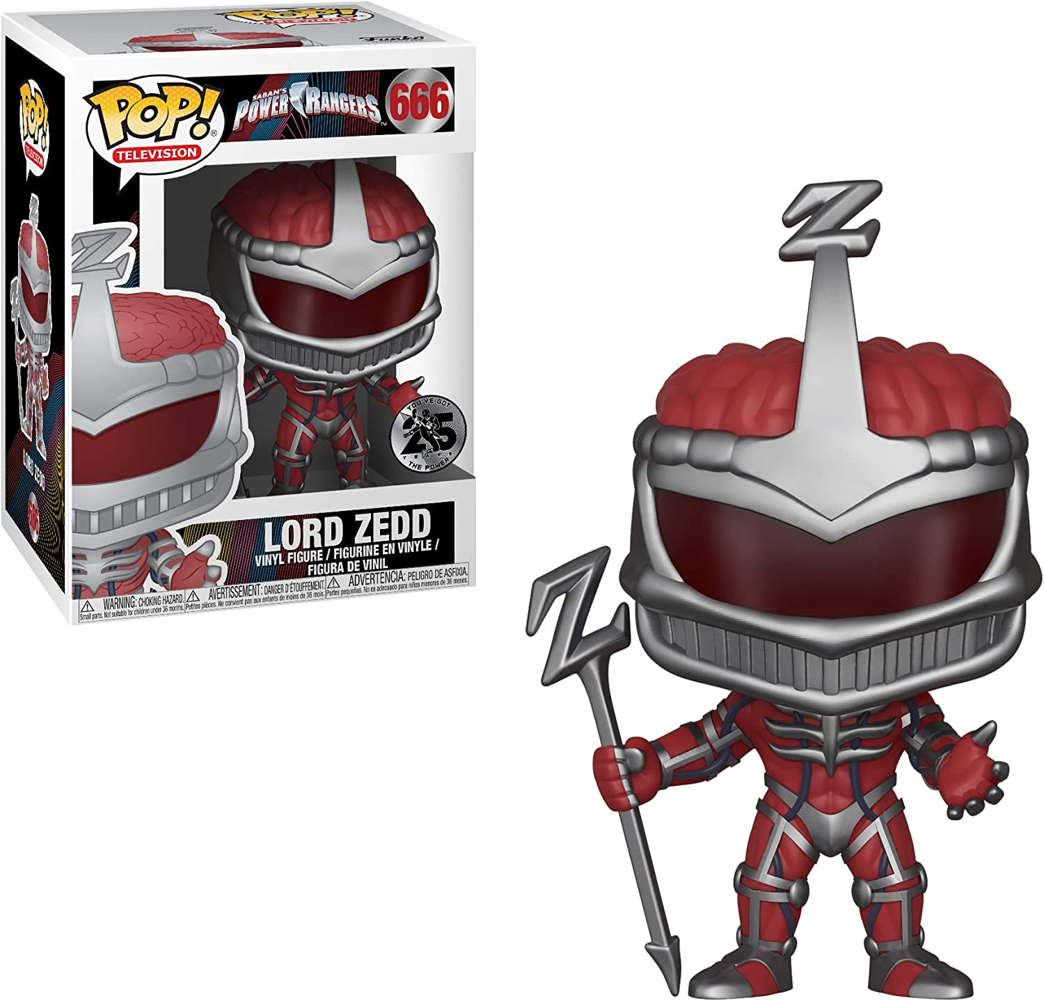 Set Goldar Funko 266  TV: Power Rangers Series 7 Villians Collectors Rita Repulsa Lord Zedd
