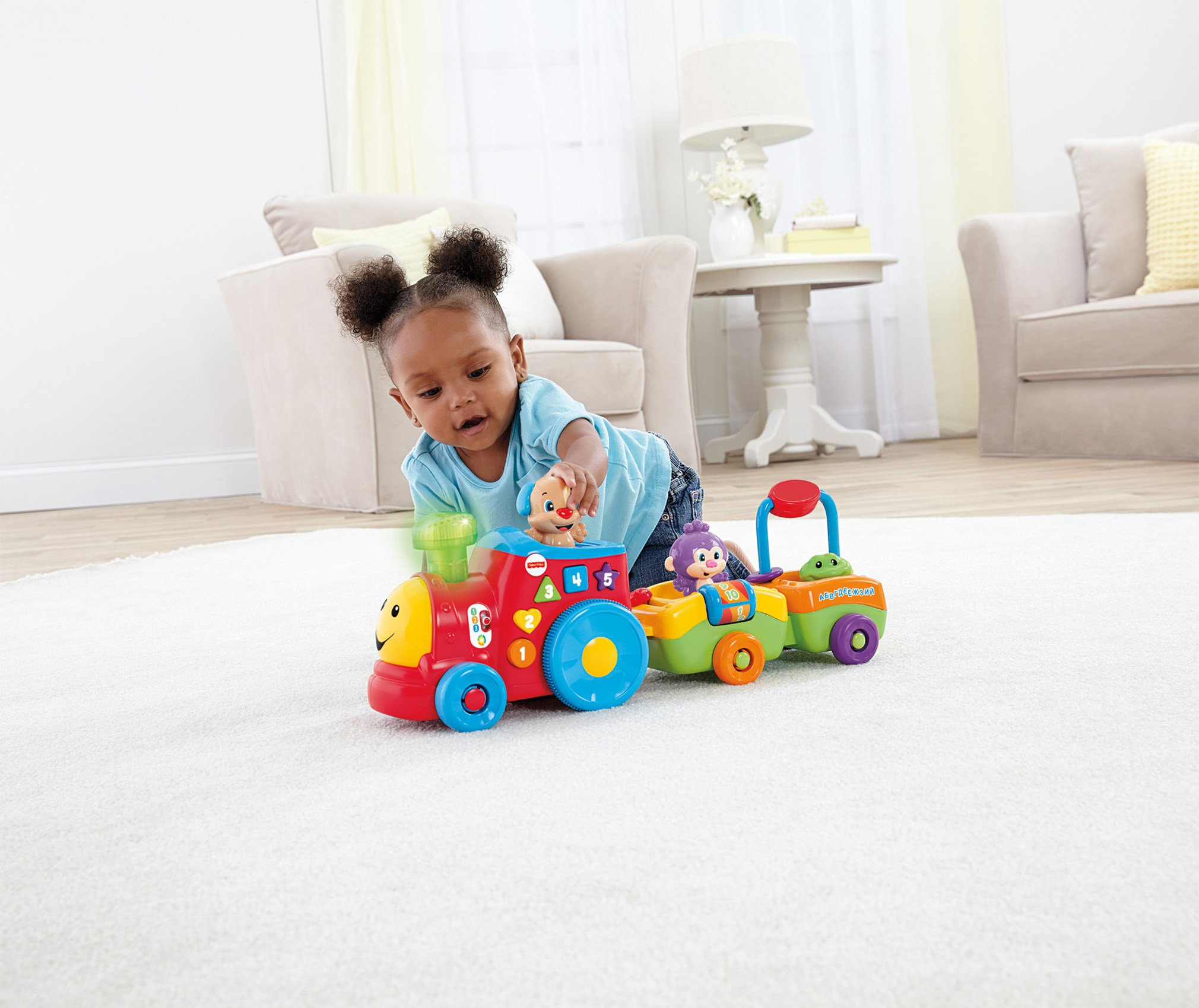 Fisher-Price Laugh & Learn Smart Stages Puppy's Smart Train by Fisher-Price (Image #3)