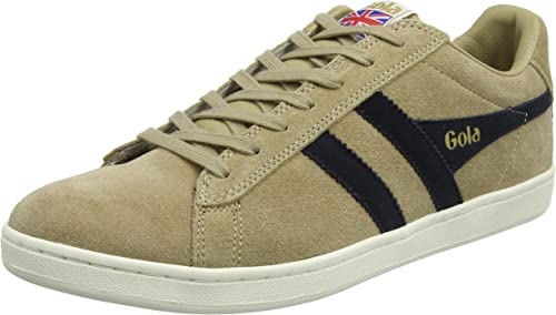 Equipe Suede Cappuccino/Navy Trainers