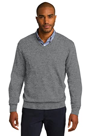 05b62bac0f961 Port Authority Men's V Neck Sweater at Amazon Men's Clothing store: