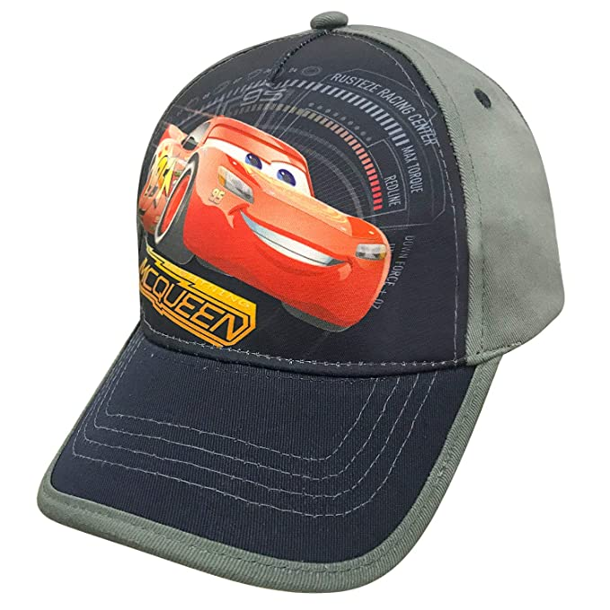 3798751bcf2 Image Unavailable. Image not available for. Color  Disney Cars Little Boys  Toddler Lightning McQueen Baseball Hat