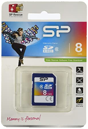Silicon Power 8GB SDHC CL6 - Tarjeta de Memoria SDHC de 8 GB ...