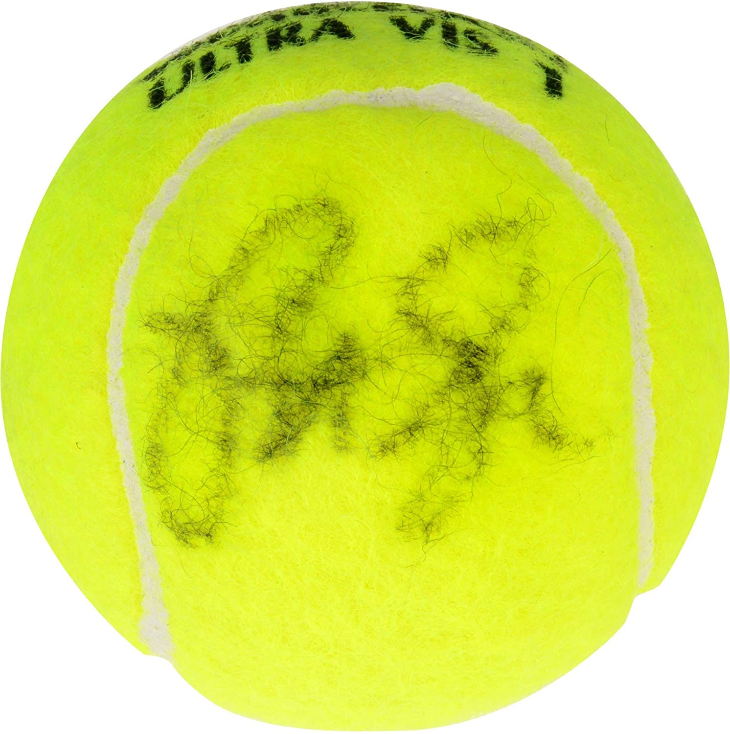 Pete Sampras Autographed Slazenger Wimbledon Tennis Ball - Fanatics Authentic Certified - Autographed Tennis Balls