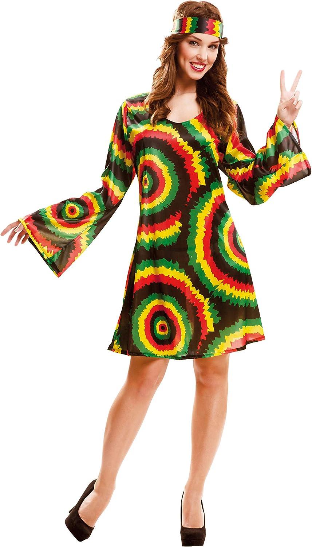 My Other Me - Disfraz Jamaicana adulto, talla M-L (Viving Costumes ...