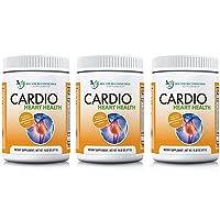Cardio Heart Health Powder – L-Arginine Supplement 5000mg & L-Citrulline 1000mg, (Pack of 3 -16.82 oz / 50.46 oz)