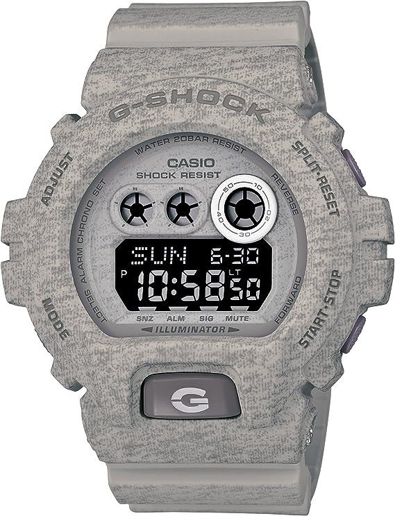 [カシオ] 腕時計 ジーショック Heathered Color Series GD-X6900HT-8JF グレー