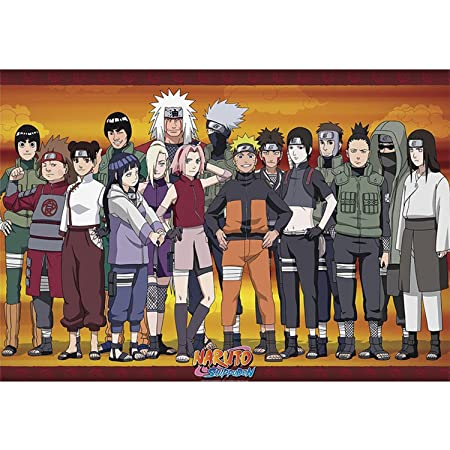 Póster Naruto Shippuden - Konoha Ninjas (91,5cm x 61cm ...