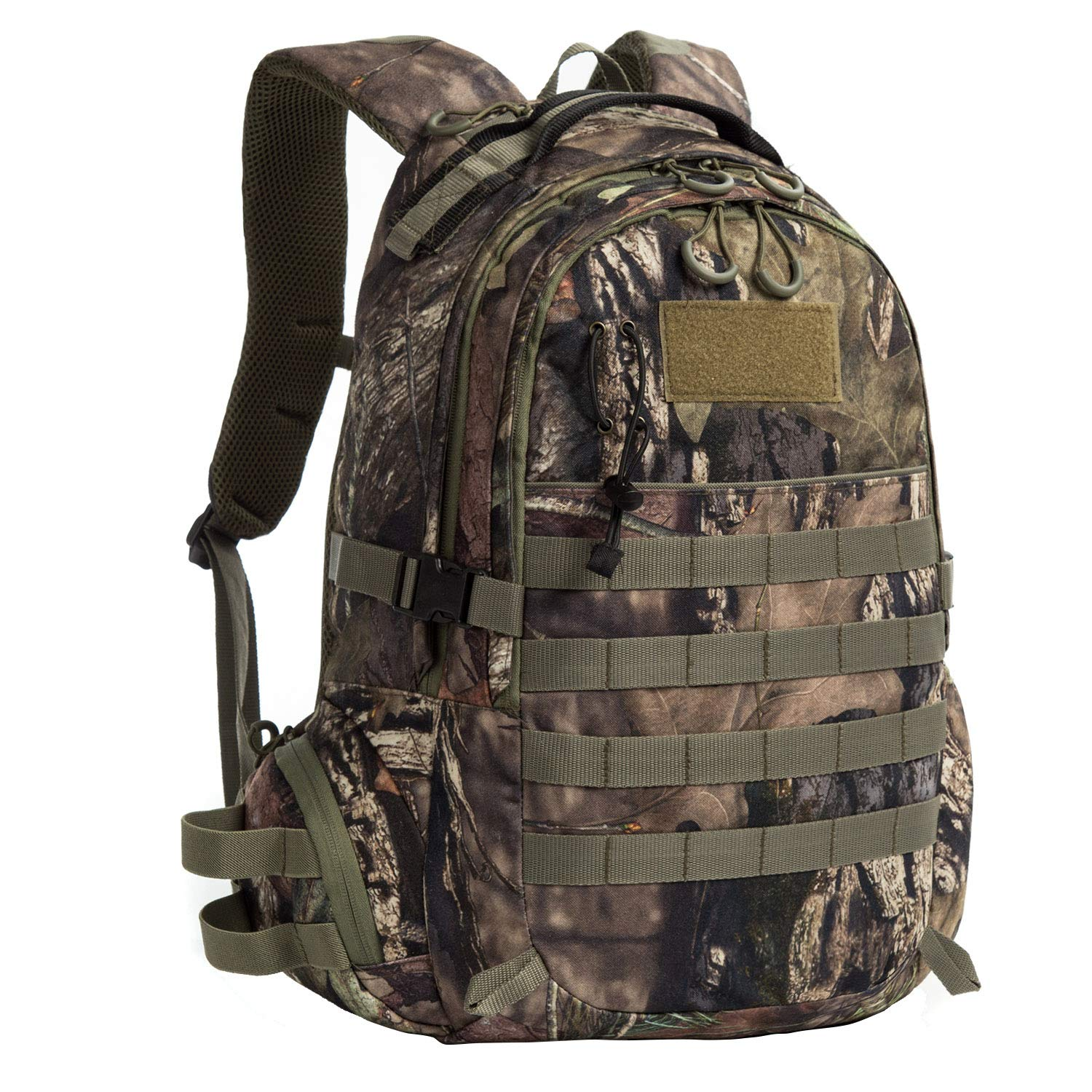 Aumtisc Camouflage Hunting Backpack, Hunting Packs -19'' x 12'' x 7'' (Green)