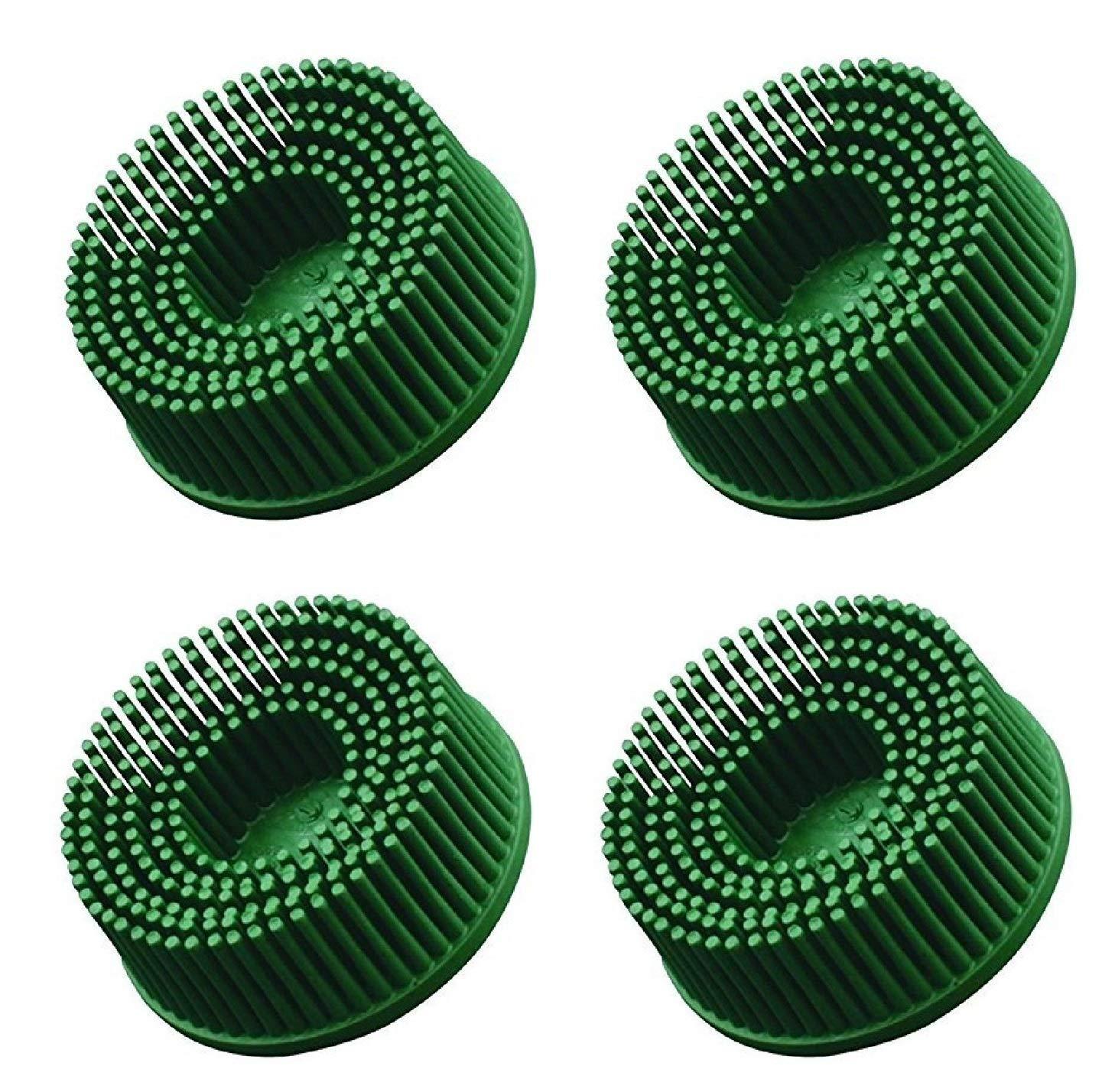 3M 3M-18730 Roloc Bristle Disc Grade - 50, (4 Pack)