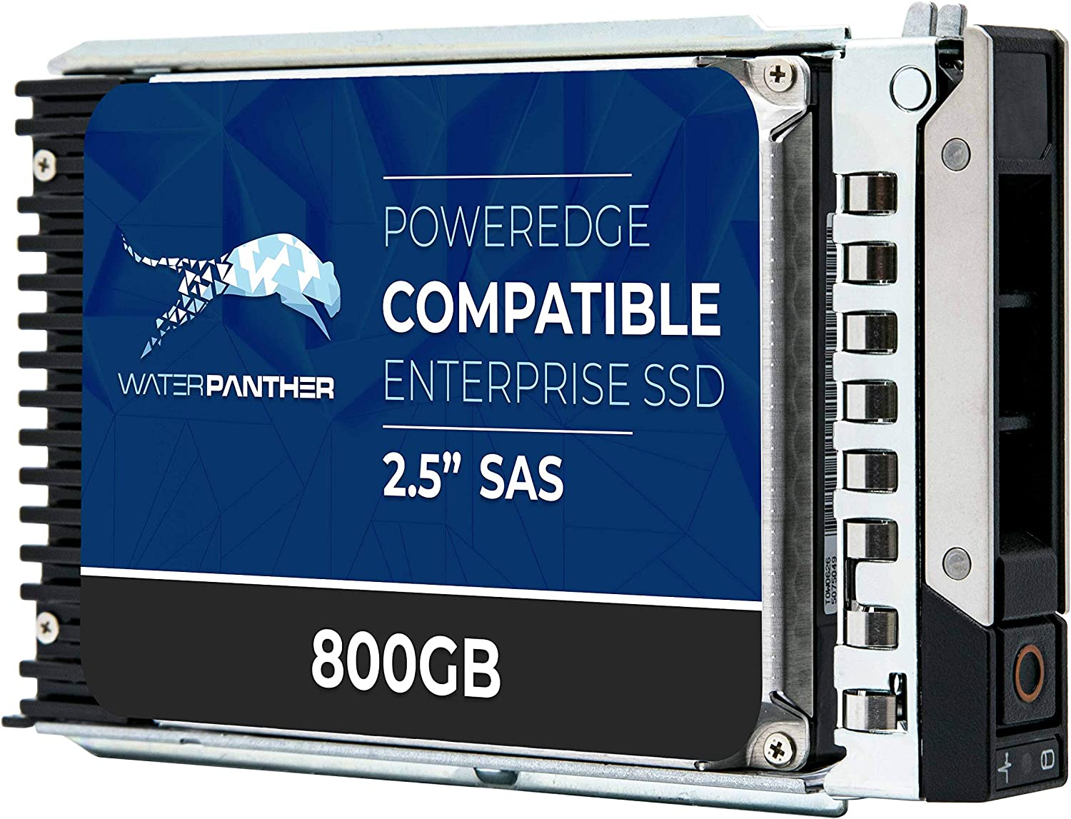 800GB 3D MLC SAS 12Gbps 2.5in SSD for Dell PowerEdge Servers | Enterprise Solid State Drive in Gen14 Tray