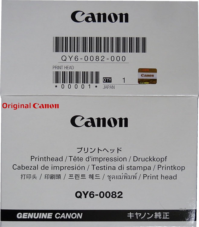 Original Canon Cabezal de impresión QY6 – 0082 para Canon Pixma ...