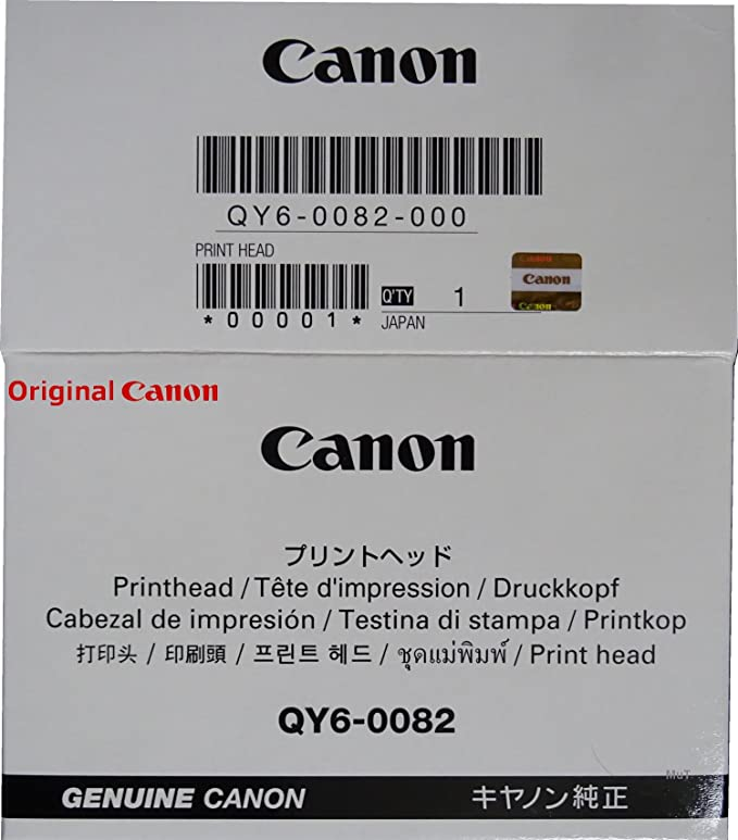 Original Canon Druckkopf Qy6 0082 Für Canon Pixma Computer Zubehör