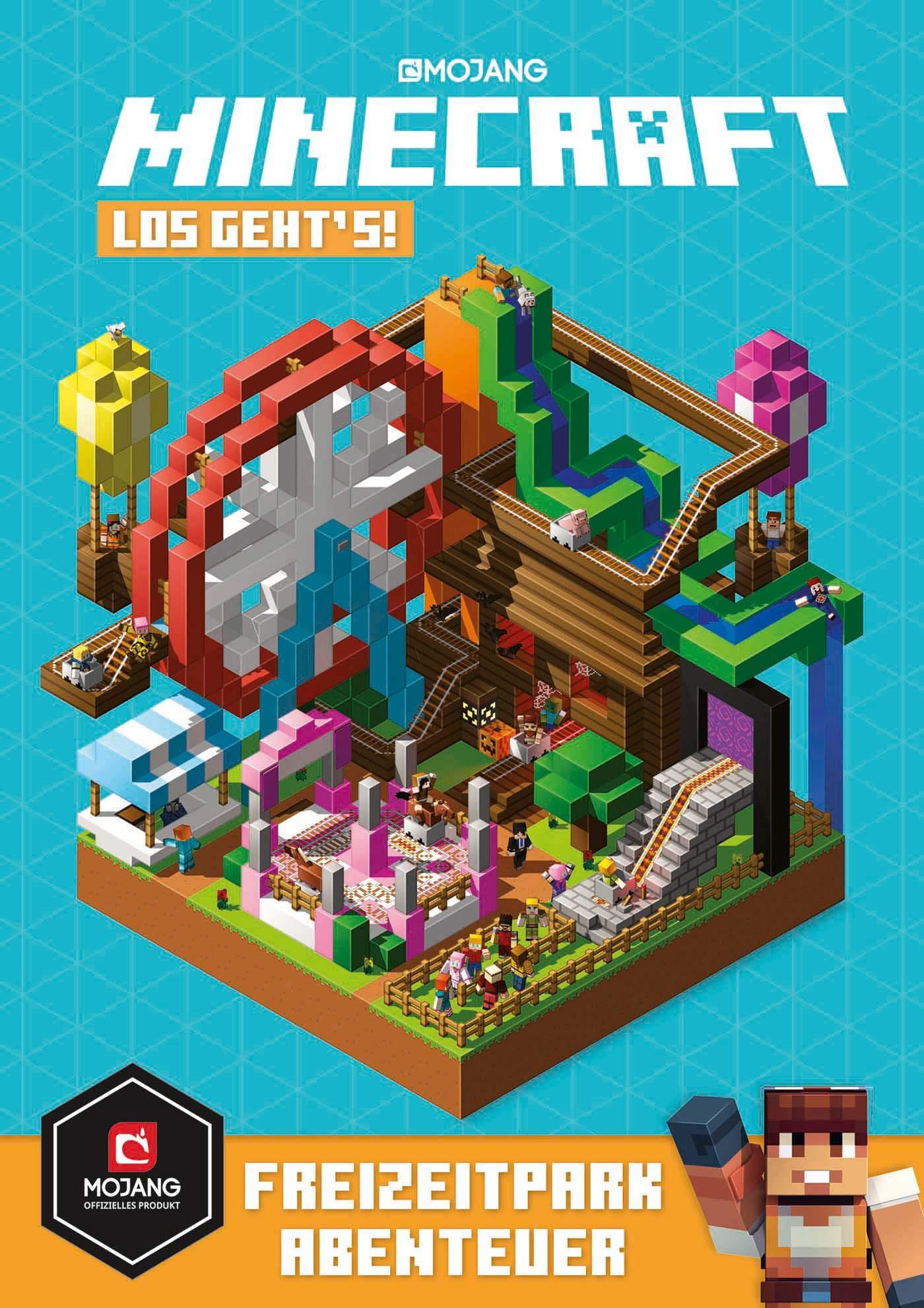 Minecraft Los Geht´s  Freizeitpark Abenteuer