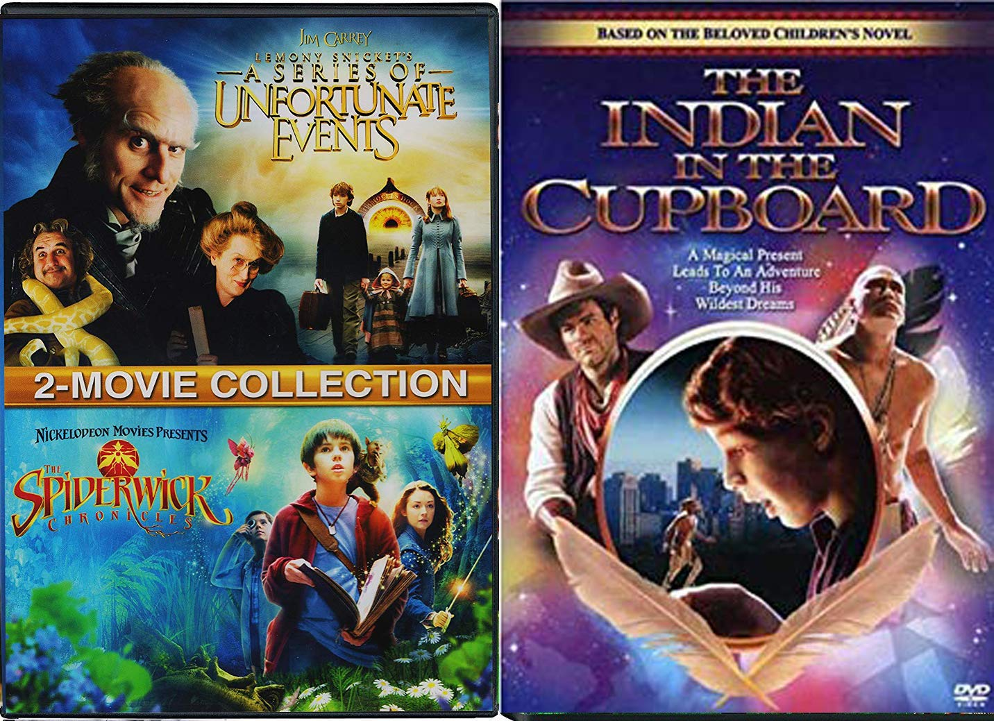 Amazon Com Wildest Kids Magical Indian In The Cupboard Triple Movie