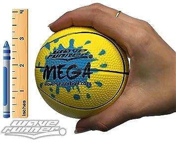Wave Runner Mega Sports Pelota de Baloncesto en Miniatura de 3.5 ...