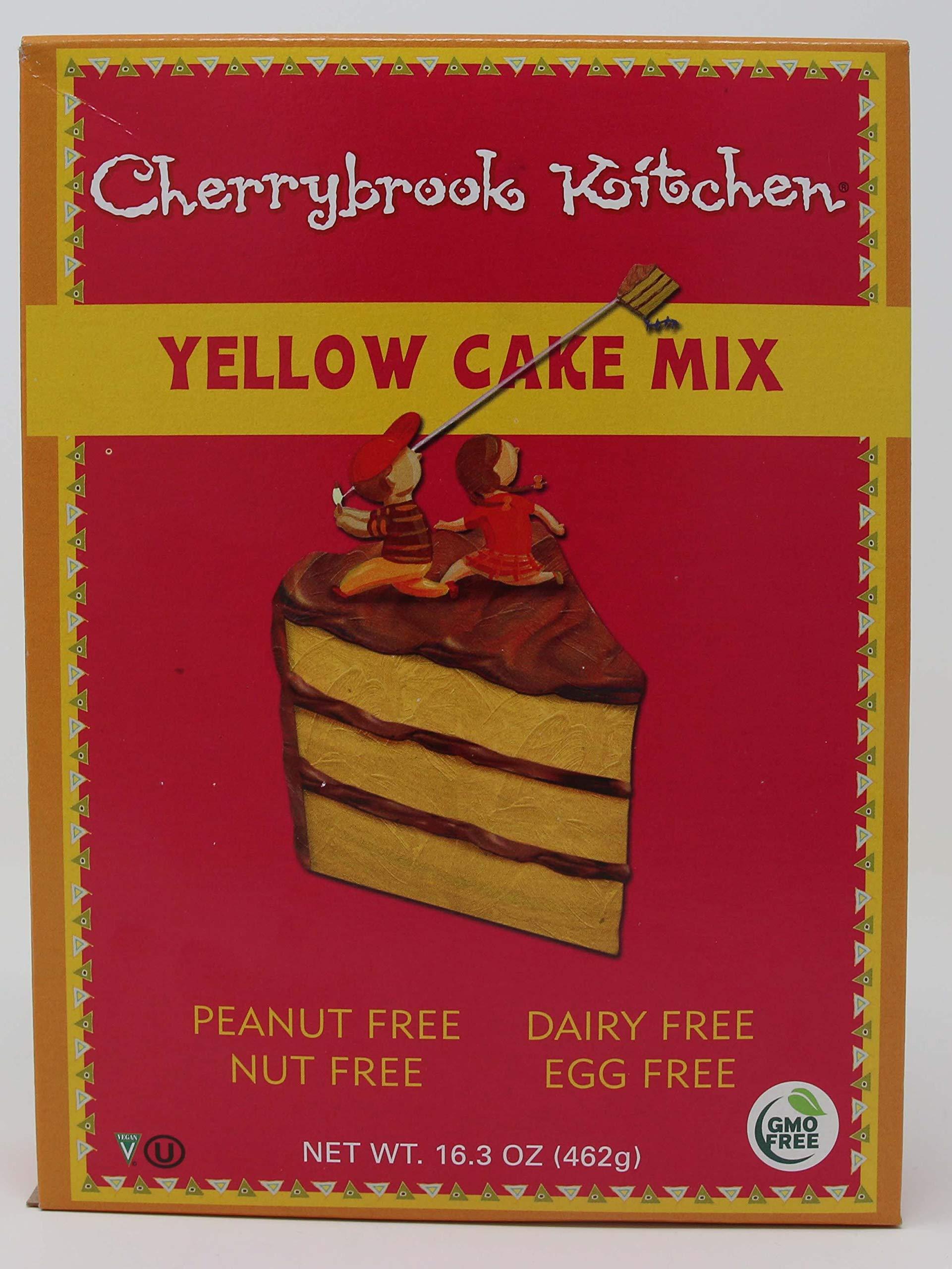 Cherrybrook Kitchen Yellow Cake Mix, 16.3-Ounce Box (Pack of 6) by Cherrybrook Kitchen