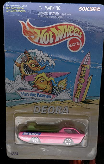 Amazon Com Hot Wheels 1997 Fish O Saurs Deora 1 64 Scale Toys