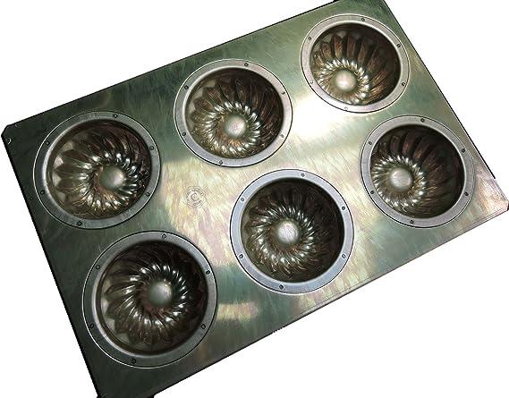 Chiyoda metal raft stick financier friand mold 6P Baking sheet oven from japan