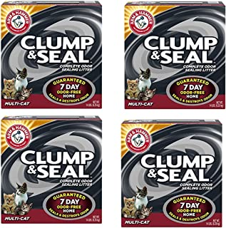 product image for Arm and Hammer hGLVTj Clump and Seal Multi-Cat Litter, 14 lb (4 Pack)