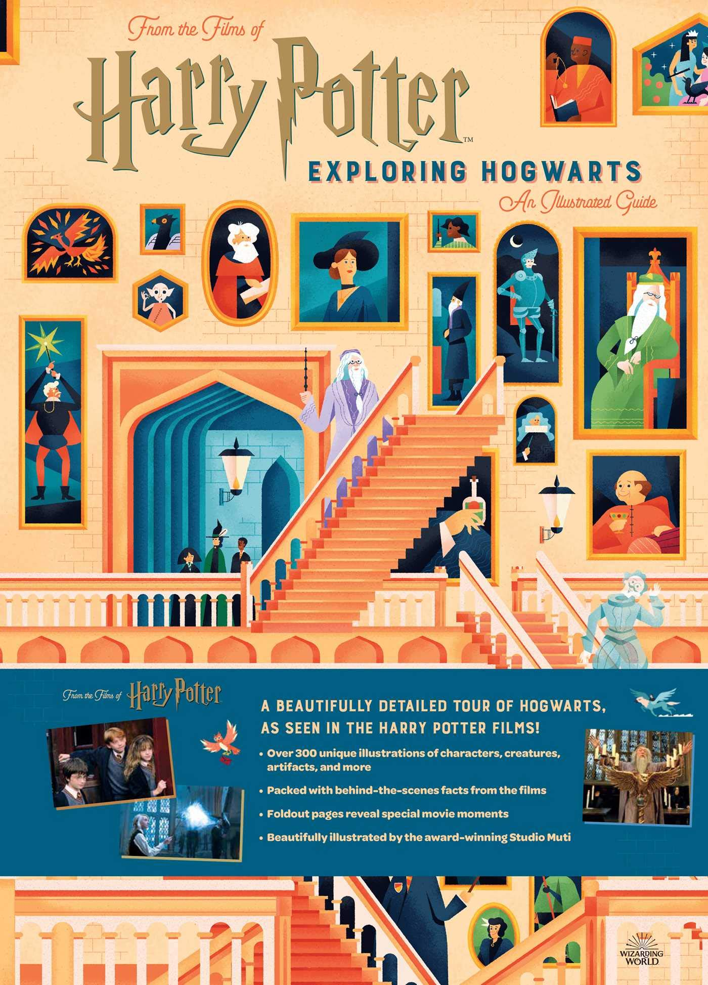 Harry Potter: Exploring Hogwarts: An Illustrated Guide by Insight Kids