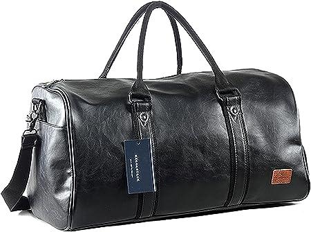 SEYFOCNIA Oversized Leather Luggage