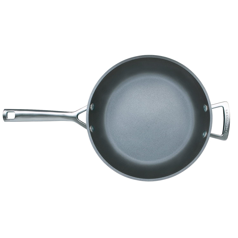 LE CREUSET SARTEN Alta Aluminio, Anodizado, Negro, 28 cm: Amazon.es: Hogar