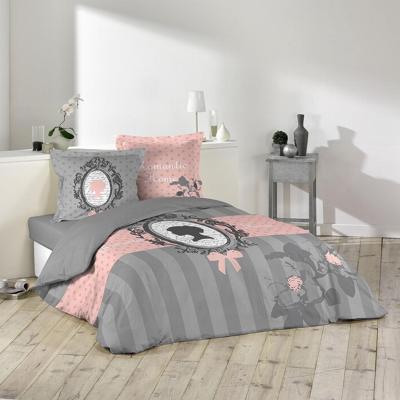 3tlg Bettwaren Bettwäsche Barock Bettwäsche 240x220 Baumwolle