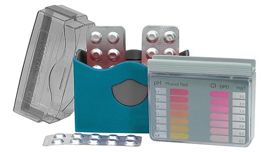 8 opinioni per Bayrol Pool-Tester 287123 Pasticche per la misurazione del PH e del cloro nelle