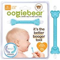 oogiebear - Curved Scoop and Loop - The Safe Baby Nasal Booger and Ear Cleaner - Easy Baby Nose Cleaner Gadget for…