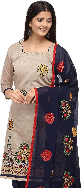Lady Dwiza Readymade Indian Designer Bollywood Dress Salwar Suit for Women Beige10