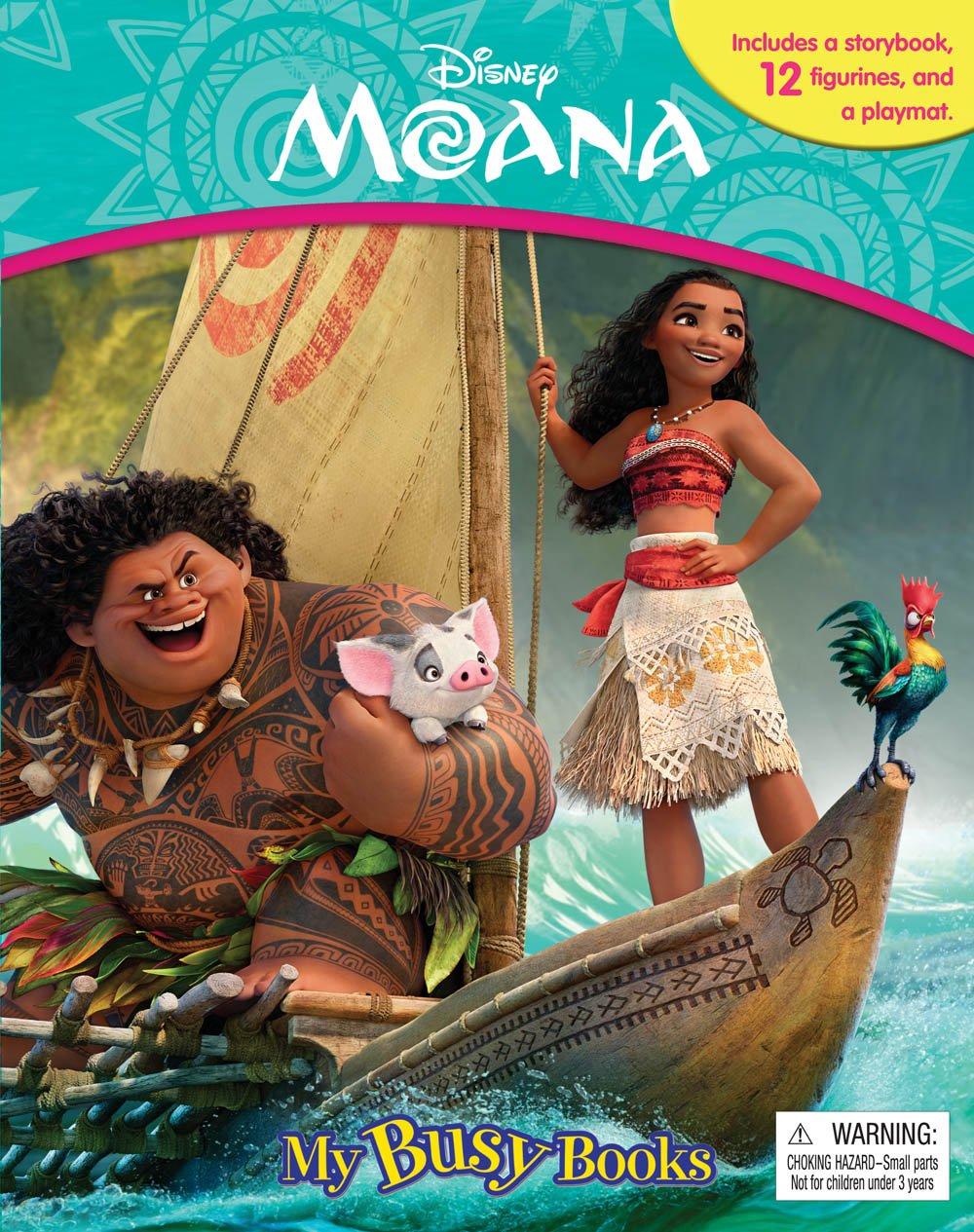 Download Disney Moana My Busy Book pdf epub