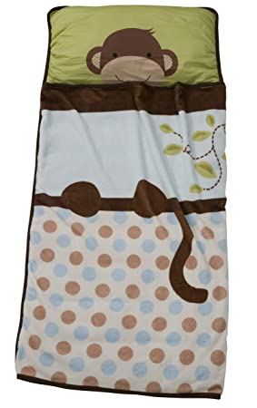 Lambs Ivy Nap Mat, Brown Monkey