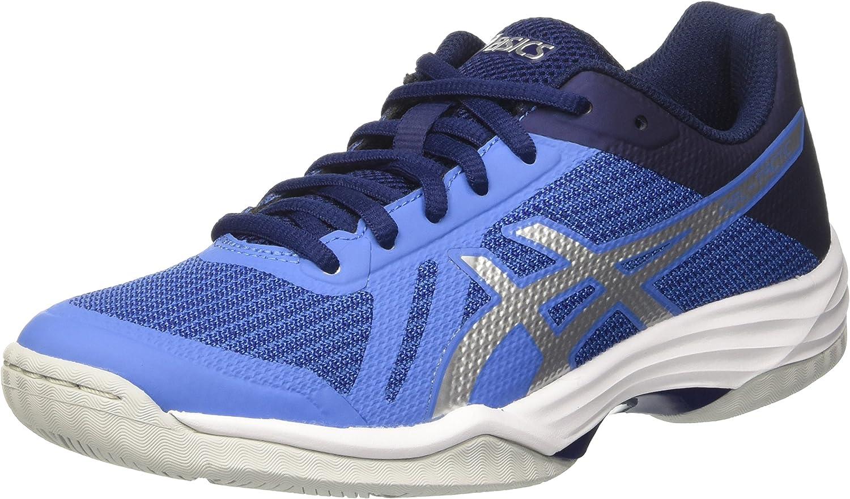 Escuela de posgrado Estructuralmente péndulo  Asics Women's Gel-Tactic Volleyball Shoes, Blue (Regatta Blue/Silver/Indigo  Blu), 4 UK: Amazon.co.uk: Shoes & Bags